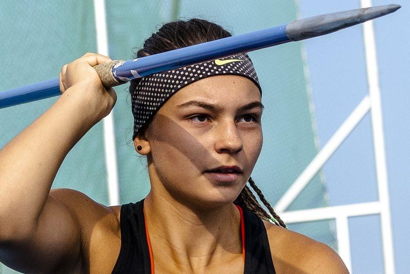 Fanni nagy reménysége a veszprémi atlétikának, a következő években már a nemzetközi porondon, korosztályos világversenyeken is bemutatkozhat. Fotó: VEDAC