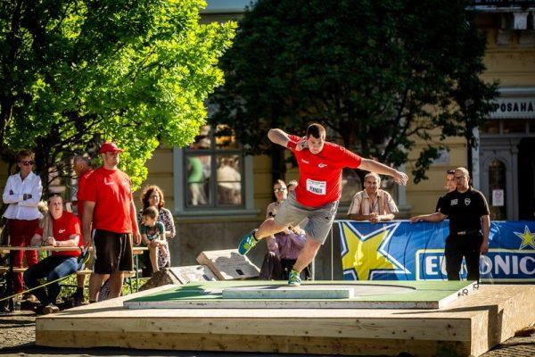 Páringer Márk egy tavalyi versenyen. Fotó: VEDAC