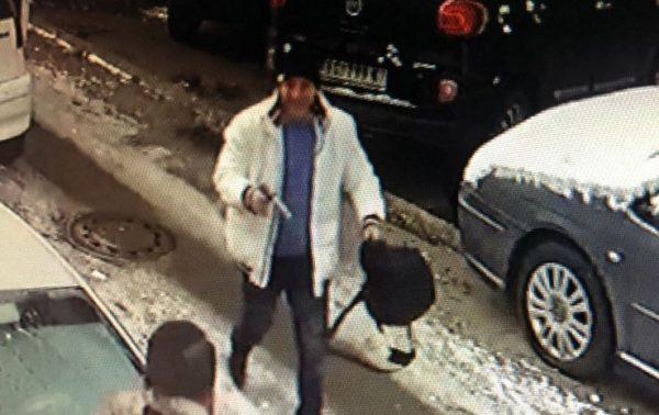 A kültéri kamera rögzítette a gyilkosságot, a szabadkai illetőségű Dér Csaba nem ismeretlen a hatóságok előtt. Fotó: pink.rs