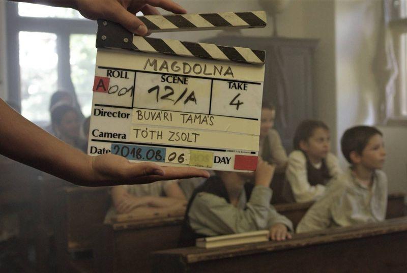 Kép a forgatásról. Fotó: SzeretFilm