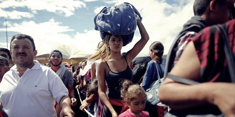 Venezuelaiak. Fotó: mandiner.hu