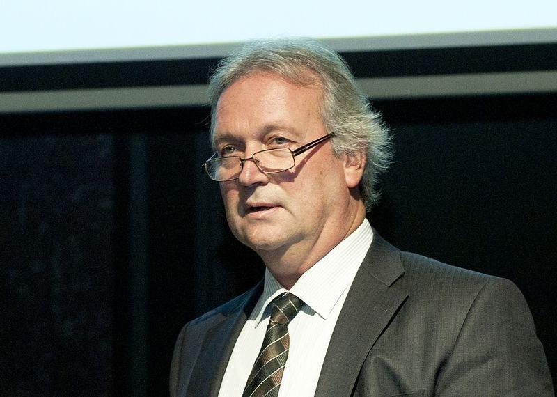 Freund Tamás neurobiológus, a Magyar Tudományos Akadémia Kísérleti Orvostudományi Kutatóintézetében működő Agykéreg Kutatócsoport vezetője. Fotó: MTA