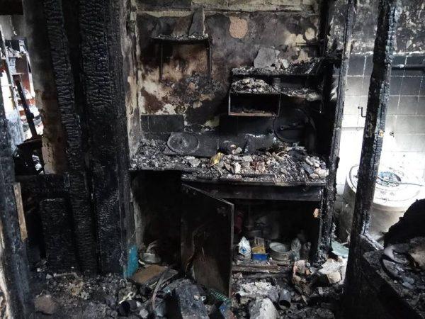 A házaspárnak mindene odalett a robbanásban. Fotók: Horváth-család Facebook-oldala