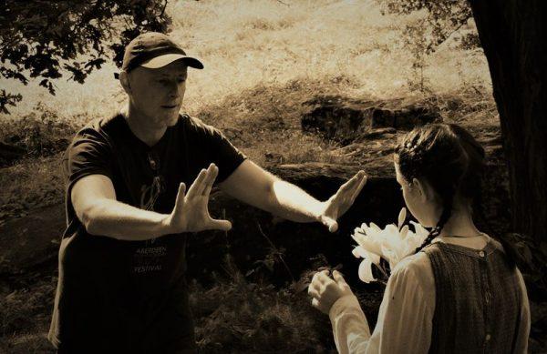 Kép a forgatásról. Fotó: SzeretFilm Stúdió