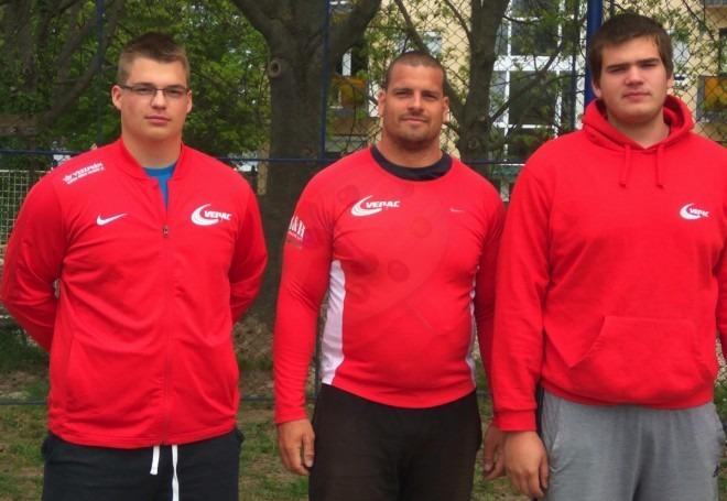 Bedegi Bence, Mozsdényi Dávid és Péringer Márk. Fotók: VEDAC