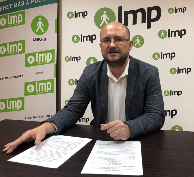 Gerstmár Ferenc, az LMP veszprémi önkormányzati képviselője