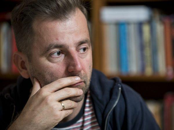 Grecsó Krisztián. Fotó: litera.hu