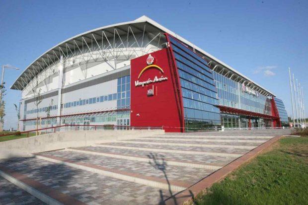 Az arénát a kézilabda Euróba Bajnokságra, 2022-re kell átépíteni. Fotó: veszpreminfo.hu