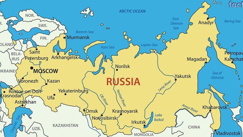 oroszország-térkép-jelölt