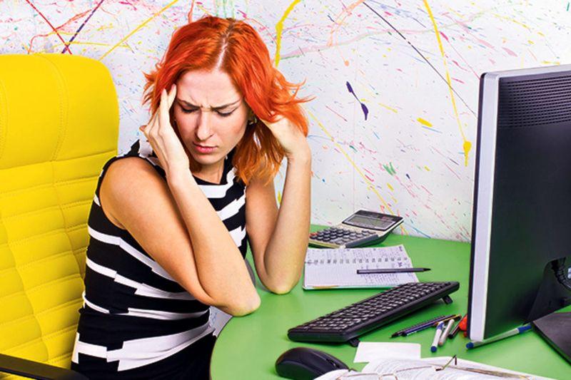 A stressz tönkre teheti mindennapjainkat. Képünk illusztráció