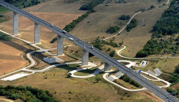 Az aranyos-völgyi viadukt látványterve (Magyar Építők)