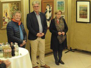 A város is képviseltette magát: dr. Kiszely Pál volt alpolgármester, Böröcz István, a Balatonfüredi Turisztikai Egyesület elnöke és Háry Lenke alpolgármester