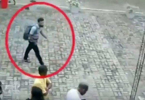 A Srí Lanka-i merénylet egyik elkövetője. Fotó: Bumm.sk