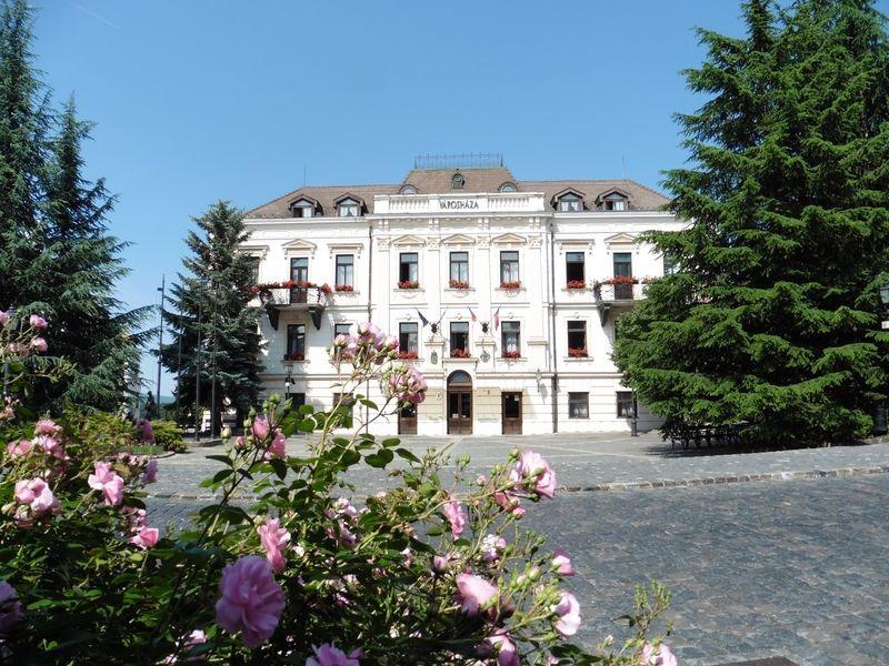 A programok egyik helyszíne az Óváros tér. Fotó: Veszprém Kukac archív