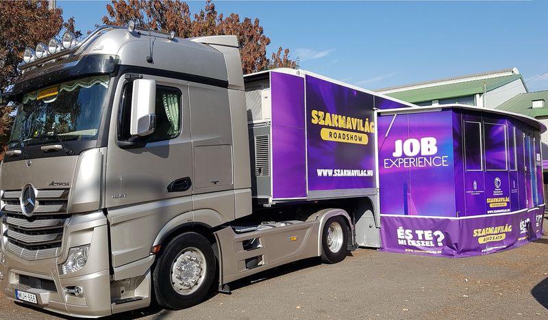 A Szakmavilág kamionja