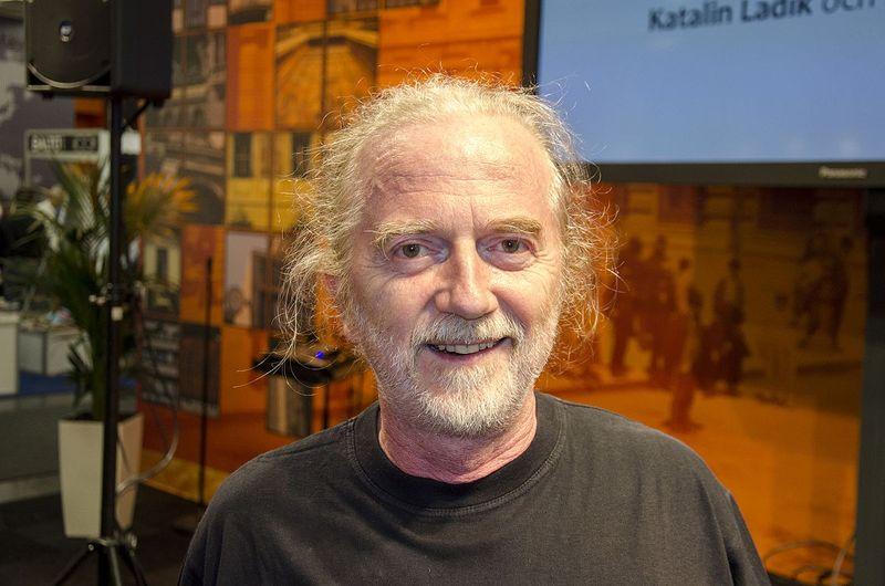 Szkárosi Endre, a Szépírók Társasága elnöke. Fotó: Albin Olsson