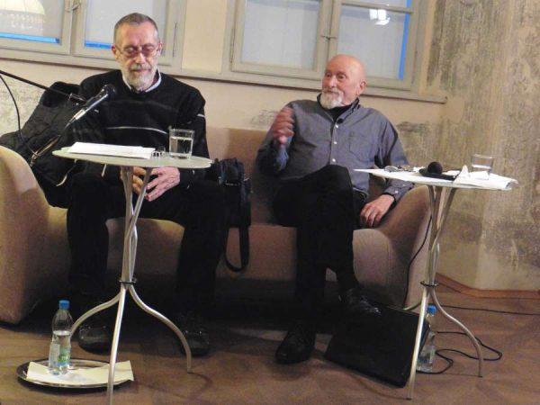 Balról Bogdán László, jobbról Tömöry Péter. Fotó: a szerző