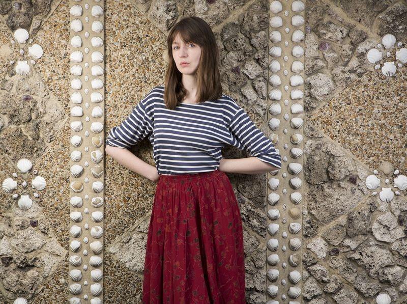 Sally Rooney. Fotó: Richard Saker/Observer