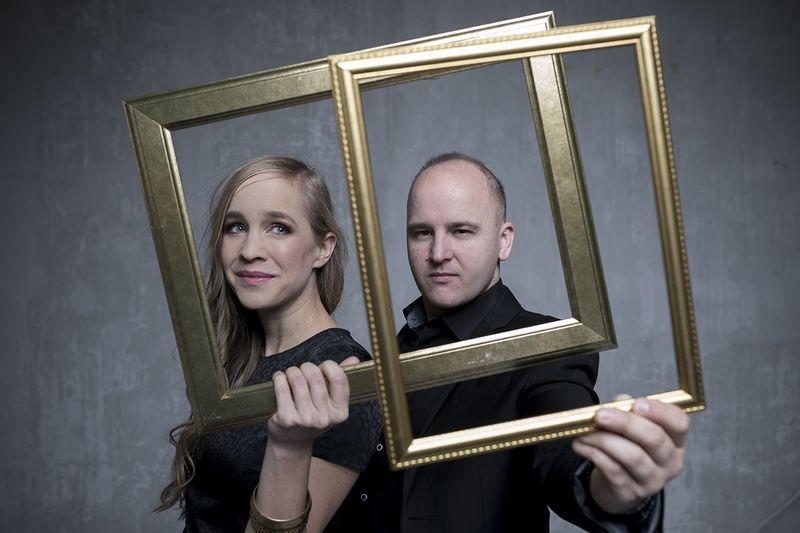 Harcsa Veronika és Gyémánt Bálint. Fotó: Glodi Balázs