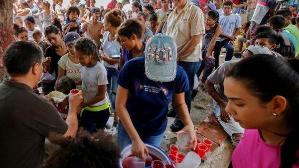 Venezuelából már több mint négymillióan menekültek el. Fotó: Euronews