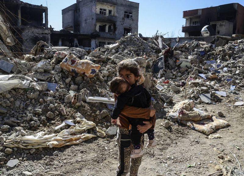 Gyerekek a szíriai polgárháborúban. Fotó: index.hu