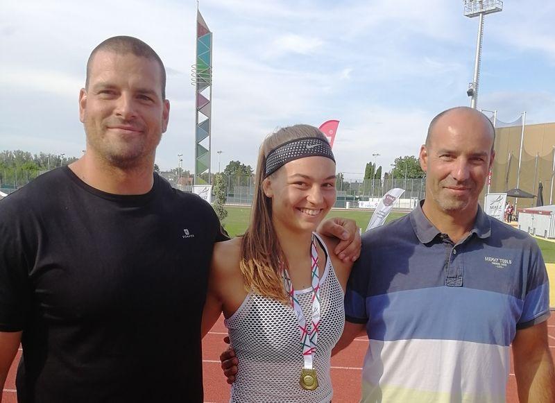 Mozsdényi Dávid, Kövér Fanni és Máhl Krisztián. Fotók: VEDAC