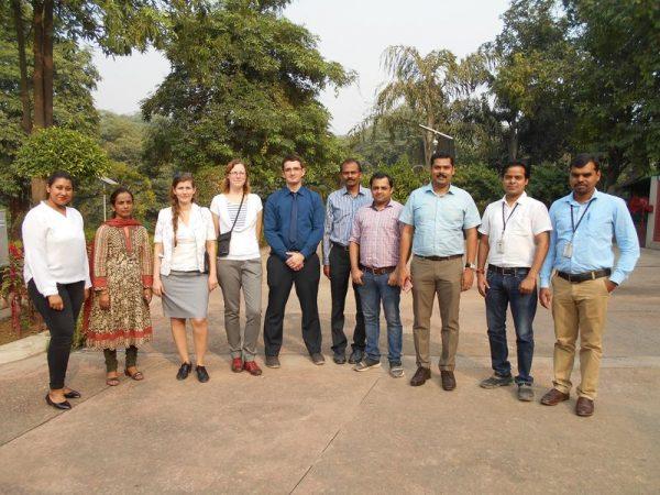A magyar-indiai kutatócsapat. Fotó: Pannon Egyetem