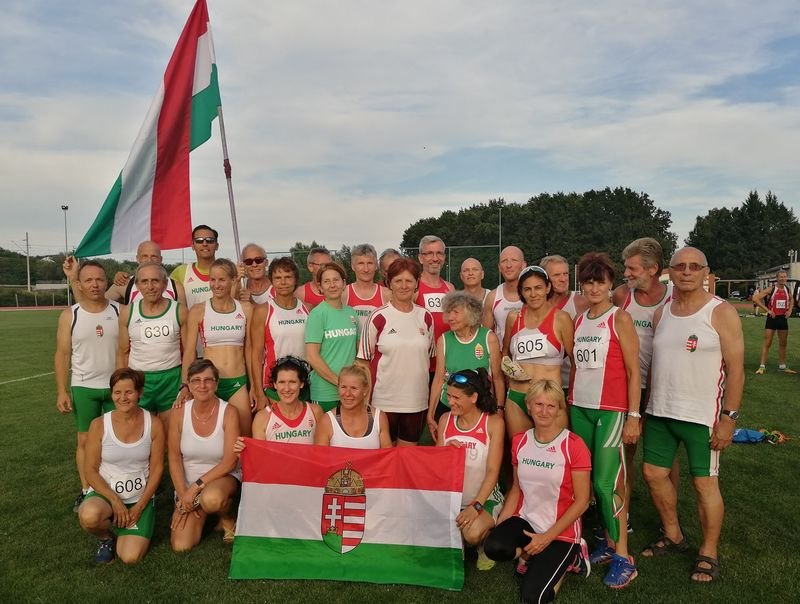A magyar csapat. Fotó: VEDAC