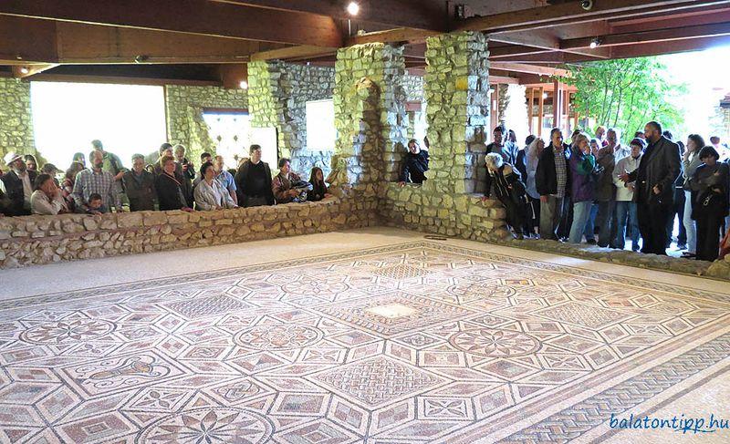 Balácán is várja a látogatókat augusztus 20-án a Magyar Nemzeti Múzeum Villa Romana Baláca. Fotó: balatontipp.hu