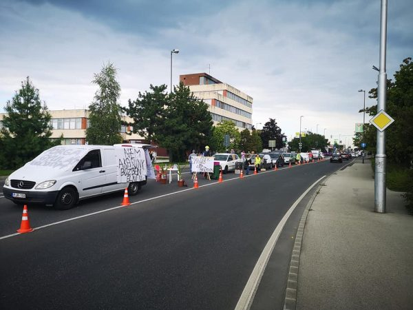 Kép a keddi demonstrációról. Fotó: szervezők