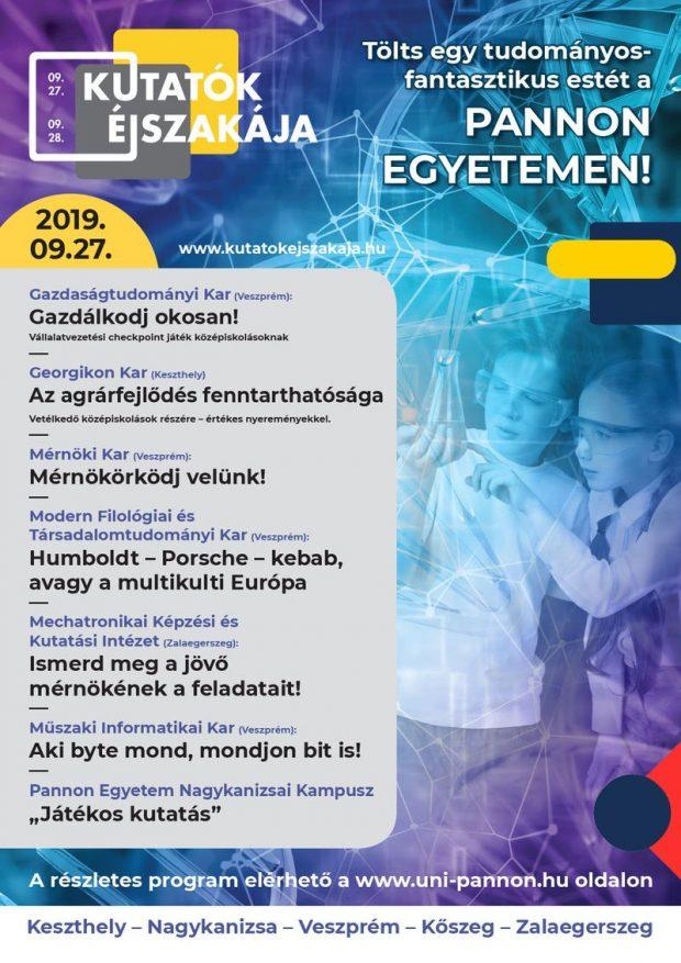 PE Kutatok Ejszakaja 2019 net