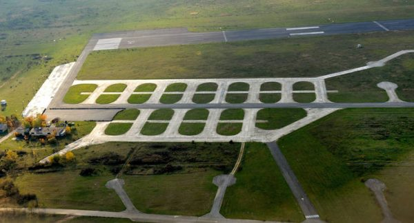 A volt honvédségi repülőtér. Fotó: MTI/Czeglédi Zsolt