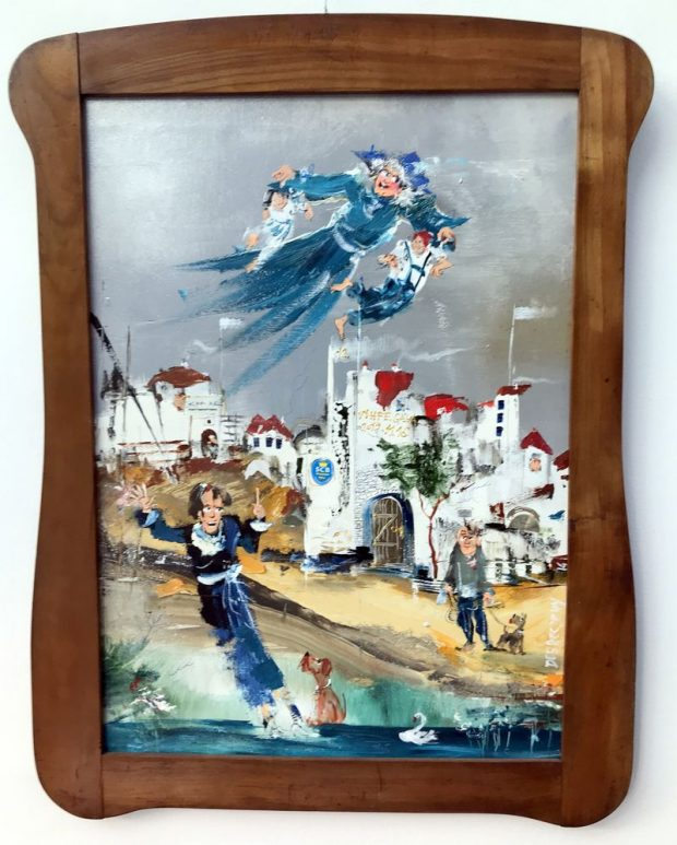 A Fél óra a nagyival című festmény