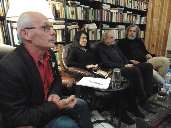 A képen balról jobbra: Krámer György, Ladányiné Cz. Nagy Zsófia, Kováts Péter és Nagy Csaba. Fotók: a szerző