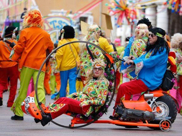 Pillanatkép a fiumei karneválról
