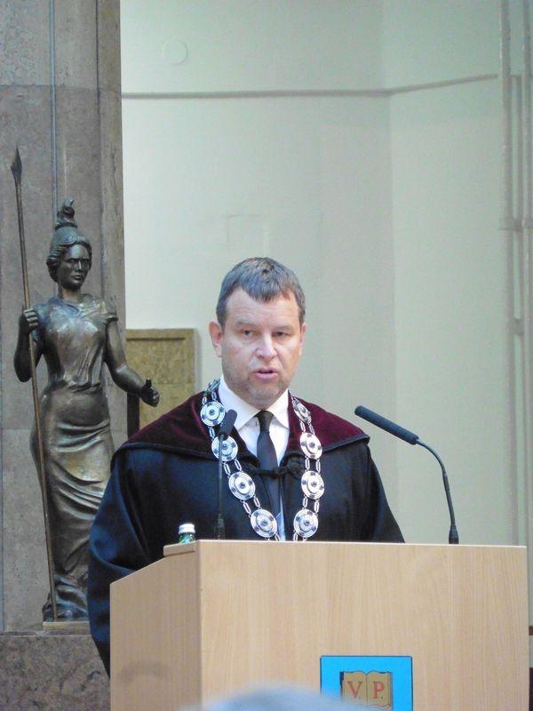 Dr. Gelencsér András, a Pannon Egyetem rektora