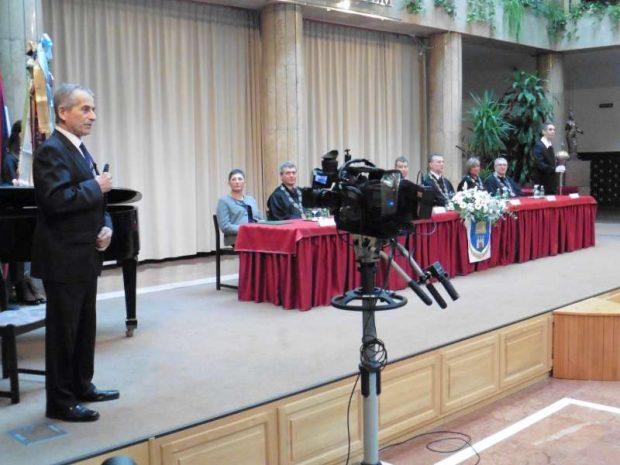 Dr. Kovács Kristóf nyugalmazott egyetemi docens beszélt az egyetem történetéről