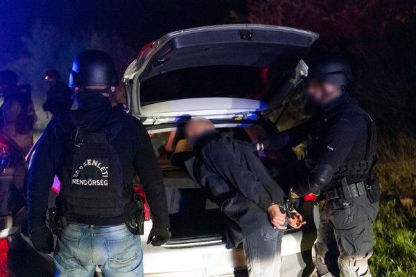 S. I.-t elfogása. Fotó: police.hu