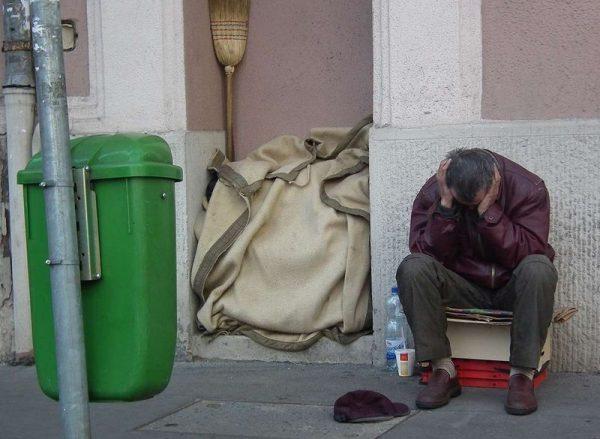 Esélyt adni az emberhez méltó élethez mindenkinek. Fotó: Népszava/Bohanek Miklós