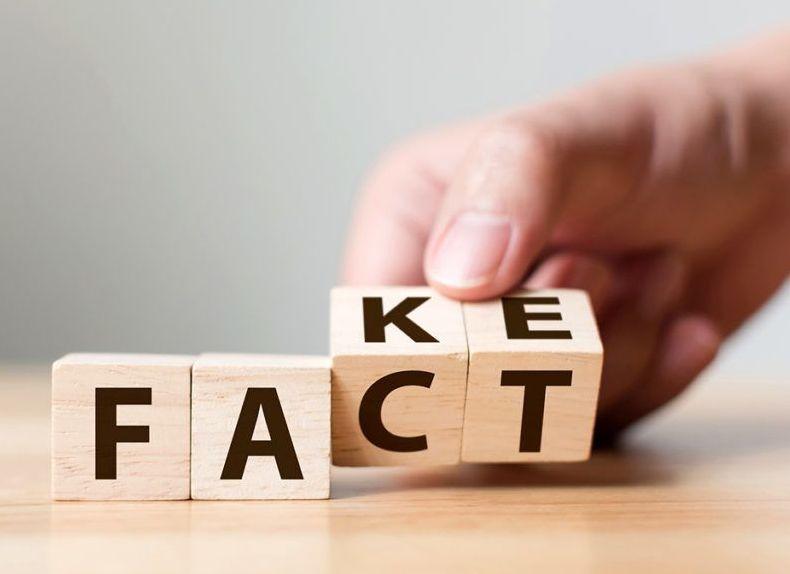 Álhírek helyett tények. Képünk illusztráció