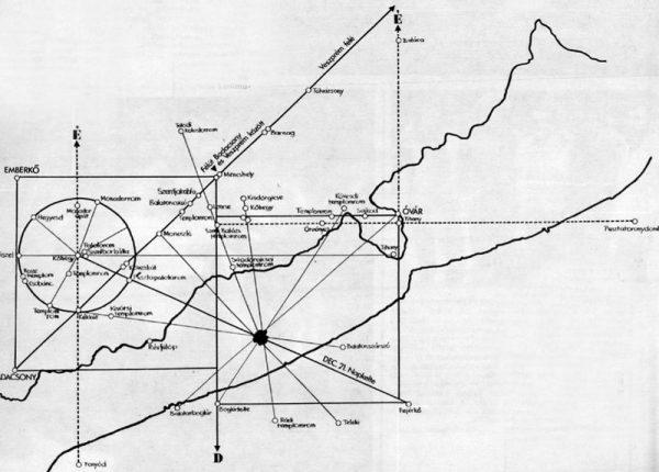 A feltételezett Nazca-vonalak a Balatonon