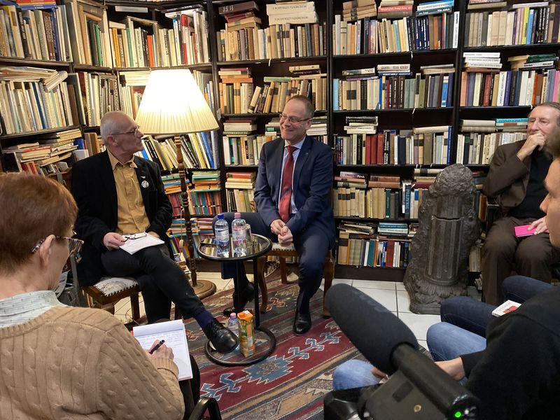 Krámer György és dr. Navracsics Tibor. Fotók: a szerző és Szűcs Kitti