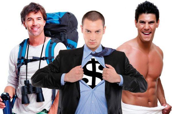 A XXI. század elejének férfitípusai. Fotók: internet