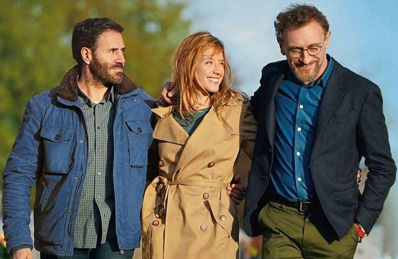 A főszereplők: José Garcia, Ludivine Sagnier és Jean-Paul Rouve