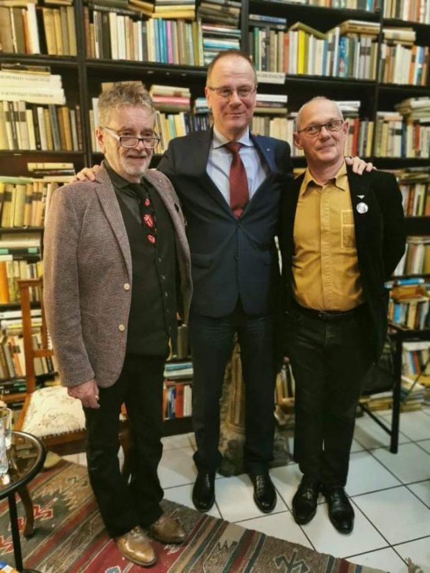 Molnár Sándor, dr. Navracsics Tibor és Krámer György