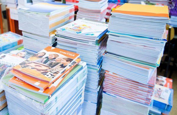 A tankönyvhelyzet is az évértékelő témája volt. Fotó: 24.hu