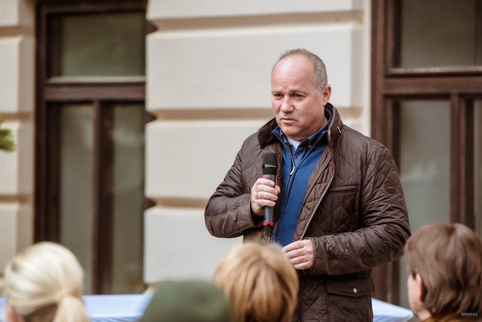 Mészáros Zoltán. Fotó: veszprem.hu