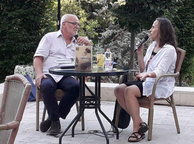Géczi János tavaly Füreden beszélgetett Tompa Andreával