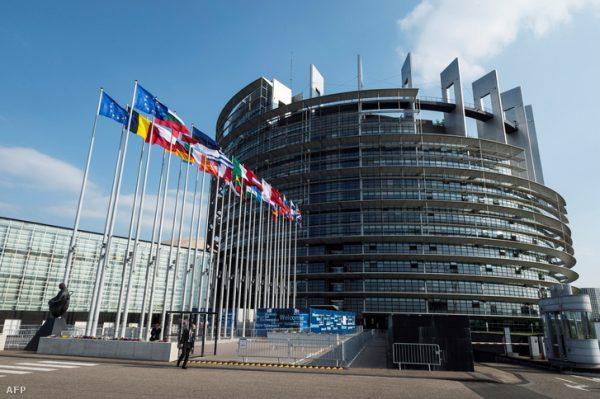 Az Európai Parlament épülete. Fotó: AFP