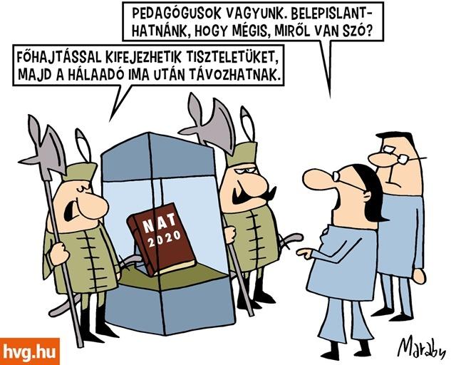 Karikatúra: Marabu/HVG